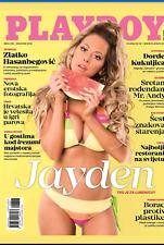 PLAYBOY CROATIA  #  252 August 2018  cover JAYDEN  + poster