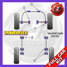 Opel Agila (06-08) Powerflex Complete Bush Kit
