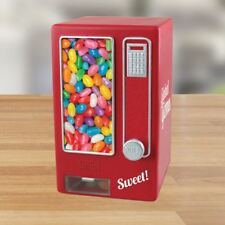Global Gizmos Retro Style Sweet Mini Vending Machine Candy Dispenser, Red