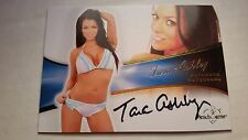 Tara Ashley 2013 Bench Warmer Bubble Gum Autograph Auto On Card #11