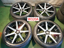 "22"" Curva C-47 Concave Land Range Rover Sport Black Machine Wheels Tires W320A"