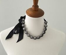 Lanvin Pearl And Chiffon Necklace