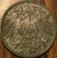 1918 GERMAN EMPIRE 10 PFENNIG