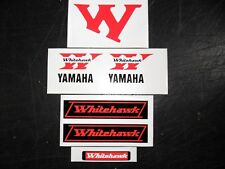 Yamaha TY Whitehawk stickers kits-Twinshock Trials