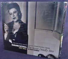 Marianne Faithful - THE SEVEN DEADLY SINS (Kurt Weill) NEW/SEALED 74321-60119-2