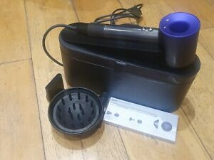Dyson Supersonic Hair Dryer purple - hardly used with attachments