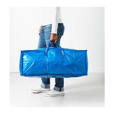 IKEA - FRAKTA STORAGE BAG with ZIP  76L  for LAUNDRY-SHOPPING-STORAGE-TOOLS-