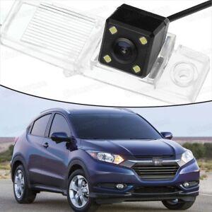 4 LED CCD Rearview Camera Reverse Parking Backup for 2014 2015 2016 Honda HR-V