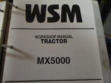 Kubota MX5000 Tractor Workshop Manual