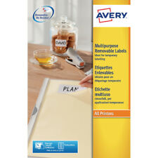Avery Removable Labels L4736REV-25