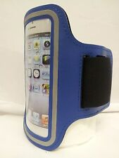 BLUE Armband Case for Jogging Running Apple iPhone 5 5S Holder Cover Atronica