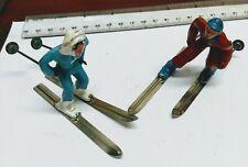 American Vintage Metal Skiers