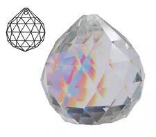 40mm Glass Crystal Faceted Chandelier Light Lamp Decoration Drop Pendent Prism
