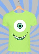 Monsters Mike T-Shirt - Film Green TV Kids Xmas Funny - Adults & Kids Sizes