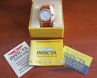 Invicta Women's Wildflower Orange Rubber Watch - Model 5926