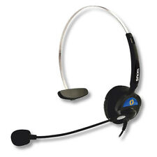 Snom HS-MM3 Headset with RJ-11 modular plug cable - New