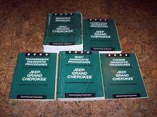 2004 Jeep Grand Cherokee Shop Service Repair Manual Set Laredo Limited 3.7L 4.7L