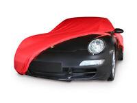 DUWEN Compatible avec la couverture de voiture de Porsche 911 Carrera 4S Couverture anti-poussi/ère ext/érieure La b/âche de protection de v/êtements en tissu de b/âche de protection de voiture disolation