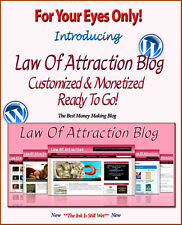 Law Of Attraction Blog Self Updating Website - Clickbank Amazon Adsense Pages **