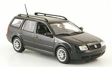 VW VOLKSWAGEN BORA VARIANT ESTATE 1999 BLACK MINICHAMPS 430 058212 1/43 NOIR