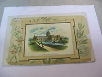 1893 Chicago World's Fair Exposition Lithograph of the Illinois State Building
