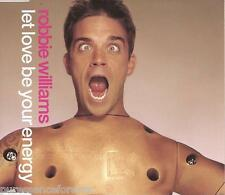 ROBBIE WILLIAMS - Let Love Be Your Energy (UK Ltd Ed 4 Tk Enh CD Single)