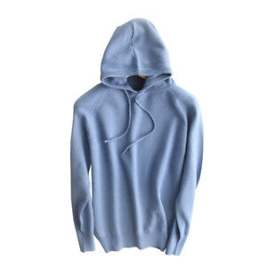 Women's Knitted Pullover Hoodie Sweater Hooded Fall Faux Woolen Casual Loose Top