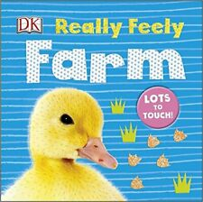 Really Feely Farm by DK Book The Cheap Fast Free Post