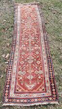 Semi Antique 112 inch Caucasian Runner, Oriental Carpet, Rug Very Clean!