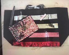 Sac A Main Victoria Secret +Trousse d Maquillage + Aqua Kiss