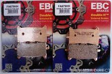 Honda ADV750 (2017 to 2018) EBC Sintered FRONT Disc Brake Pads (FA679HH) 2 Sets