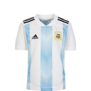 Adidas Argentina Home Youth Soccer Jersey- 2018 World Cup
