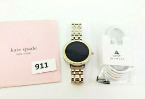 Kate Spade New York Women's Scallop TwoTone Stainless Steel Touchscreen KST2007