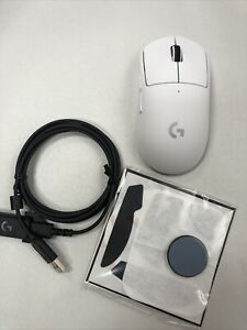 Logitech G PRO X SUPERLIGHT Wireless Gaming Mouse - WHITE - Barely Used