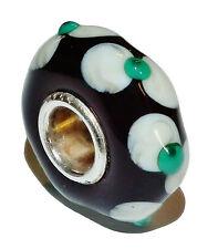 PreOwned Genuine TROLLBEADS Murano Glass 'Universal Uniques' Bead #2 - 65006