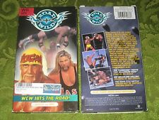 WCW ROAD WILD '99 VHS VIDEO HULK HOGAN STING RANDY SAVAGE RARE MOVIE NOT ON DVD!