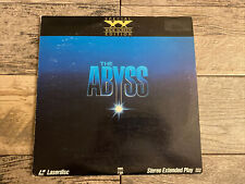 The Abyss Laserdisc-Widescreen Edition-Extended Play-2 Disc Set