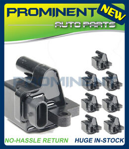 8PCS Ignition Coil Replacement For CHEVY GMC CADILLAC 5.3L 6.0L 8.1L 4.8L UF271
