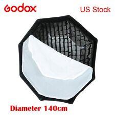 Godox 140cm Octagon Grid Honeycomb Softbox Bowens Mount for Studio Strobe Light