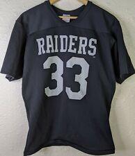 Vintage RAWLINGS Los Angeles Oakland Raiders NFL Kenny King Jersey Size Medium M