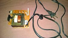Sanyo M9935K Boombox Ghettoblaster Power Supply with Cord & Multi Voltage PARTS