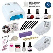 Kit de Manicura Semi Permanente Completo con 30 Accesorios Centro de Belleza New