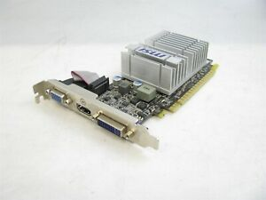 N8400GS-MD512H/TC MSI NVIDIA GeForce 8400GS 512MB DDR3 Video Graphics Card