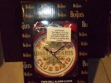 THE BEATLES TWIN BELL COLLECTIBLE ALARM CLOCK