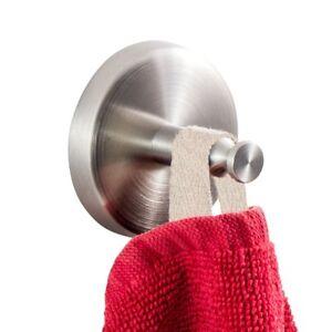 Handtuchhaken - Handtuchhalter - Wandmontage - Edelstahl matt - 2er Set