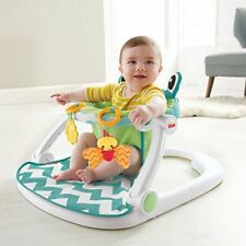 Baby Floor Seat, Citrus Frog ,Fisher-Price ,sitting and playing,baby fun,safety