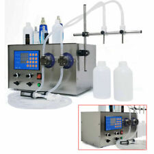 4000ml 200w Magnetic Pump Liquid Filling Machine Double Head Liquid Filler Usa
