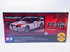 59284 | Tamiya RC 58667 Bausatz 1:10 Audi Quattro Rallye A2 TT-02 NEU OVP