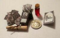 Dollhouse Miniature Tarrot nd Spells