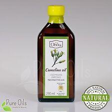 Camelina Oil, cold-pressed, unrefined, Olej z lnianki Ol'Vita 250 ml